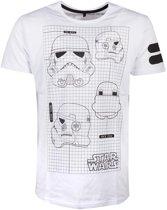 Star Wars - Star Wars Imperial Army Men s T-shirt - L
