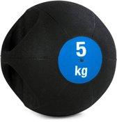 Medicijnbal Double-Grip 5 kg Krachtapparaataccessoire YOGISTAR