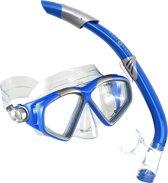 Aqua Lung Sport Cozumel II + Seabreeze II - Snorkelset - Volwassenen - Blauw