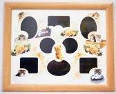 Fotoframe Kleine Poesjes 46 CM X 56 CM