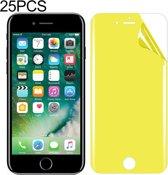 Let op type!! 25 stuks voor iPhone 7/8 Soft TPU volledige dekking front Screen Protector