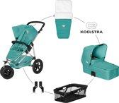 Koelstra Mambo Daily Pack - Kinderwagenset - Jade