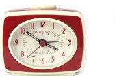 Kikkerland - Classic Alarm Clock - Wekker - Rood