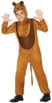 Dierenpak leeuw onesie verkleedset/kostuum voor kinderen - carnavalskleding - voordelig geprijsd 116 (5-6 jaar)