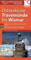 Ostseeküste Travemünde bis Wismar Rad- und Wanderkarte 1 : 40 000