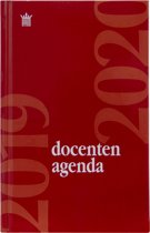 Ryam Docenten Hardcover Agenda 2017-2018 - Rood