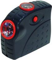 Carpoint Compacte Luchtcompressor Zaklamp 12 Volt 10 Bar Zwart