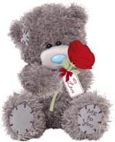 Me To You Love You Knuffel 16 Cm Roos