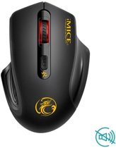 Draadloze Gaming Muis - Zwart - Instelbare DPI - 2000DPI - 800DPI - 1600DPI - Gaming - PC - Laptop