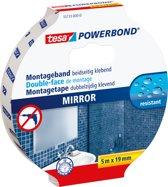 Tesa Powerbond montagetape spiegels 5 m x 19 mm
