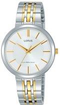 Lorus RG279MX9 horloge dames - zilver en goud - edelstaal