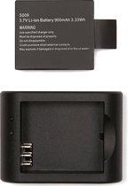 VIZU ExtremeX Charger en Extra Batterij Combi