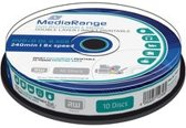MediaRange MR468 8.5GB DVD+R DL 10stuk(s) lege dvd