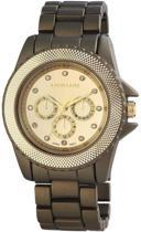Excellanc Horloge 45 mm - Quartz Uurwerk - Olijfgroen - Staal