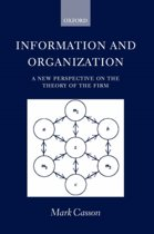 Information and Organization