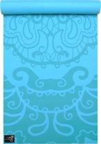 Yogamat basic art collection etnic turquoise Fitnessmat YOGISTAR