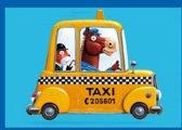 Verjaardagskaart voor kinderen taxi paard