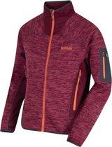 Regatta Collumbus III Fleece  Sportjas performance - Maat S  - Mannen - rood/oranje