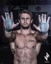 Jerkfit RAW Grips crossfithandschoen l leer l maat XL