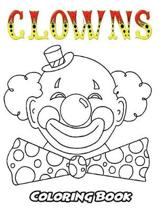 Clowns Coloring Book