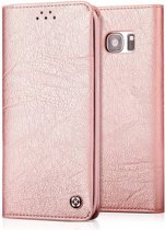 Xundd - Samsung Galaxy S8 Portemnnee Hoesje soft skin leather case met  pasjes Rose Goud