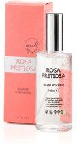 Rosa Biologisch gecertificeerd rozenwater 100% puur voor gezicht, lichaam en haar