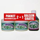 Dr.Dudek SMEERWORTELZALF PAKKET (2+1 BALSEM GRATIS)