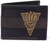 The Elder Scrolls - Morrowind Metal Badge Wallet - Black