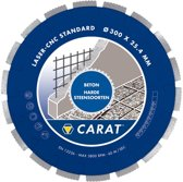 Carat Diamantzaagblad - Beton Nat 350 mm Asgat 25,4 mm