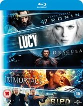 5-Movie Starter Pack 1: 47 Ronin - Lucy - Dracula Untold - Immortals - R.I.P.D.