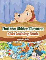 Find the Hidden Pictures in Kids Activity Book