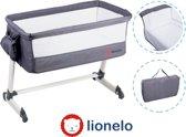 Lionelo Lo-Theo Reiswieg instelbare hoogte met tas en accessoire donker grijs