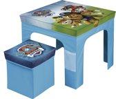 Nickelodeon Paw Patrol Opvouwbare Tafel En Stoelen Blauw