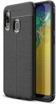 Just in Case Soft TPU hoesje voor Samsung Galaxy A20e - Zwart