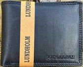 Lundholm RFID portemonnee Heren portemonnee leer zwart nappa leder - RFID anti-skim bescherming   hoogwaardige kwaliteit - cadeau voor man