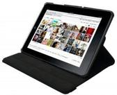 4-OK 360 Rotary Stand voor Apple iPad 2/3 Black