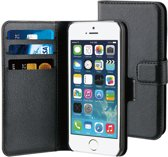 BeHello Wallet Case voor Apple iPhone 5/5S/SE - Zwart