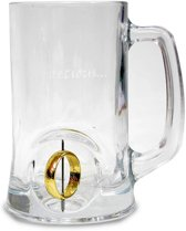 Lord Of The Rings 3D Rotating Ring Crytal Stein Bierglas - My Precious - 500 ml - 1 stuk