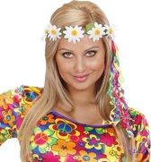 Bloem haarband voor volwassenen - Verkleedattribuut