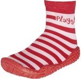 Playshoes zwemsokken rood roze streep