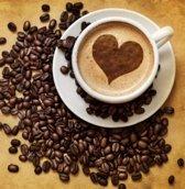 Koffie en Cappuccinomallen | 6 stuks | 3 verschillende vormen