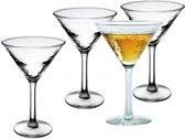 4x luxe cocktailglazen - 250 ml - cocktailglas