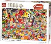 "COMIC 1000 WORLD DARTS""180"""