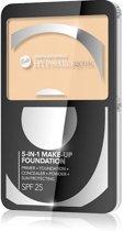 Hypoallergenic - Hypoallergene 5-in-1 Make-up Foundation Spf 25 #01, Natural