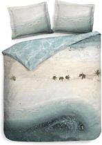 Hoogwaardige Katoen Dekbedovertrek Tulum | 140x200/220 | Dubbelzijdig | Ademend En Comfortabel