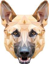Rock that Wall muursticker Herders-hond  uit de Diamond Pets Collectie