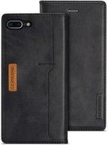 Leren Wallet Case - iPhone 7/8 Plus - Zwart- LC.IMEEKE