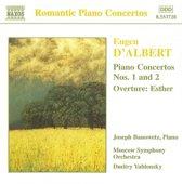 Romantic Piano Concertos DAlbert Banowetz Yablonsky