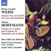 Schwab/Ahlert - Sonatas For Baroque Lute & Mandolin