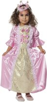 Koning Prins & Adel Kostuum | Schattige Prinses Roze Met Strikken | Meisje | Maat 116 | Carnaval kostuum | Verkleedkleding